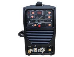 Schweißgerät Digi Ac / DC 200p Wig Tig Puls Forme D'onde + E-main Mma 200a Igbt 32-bit