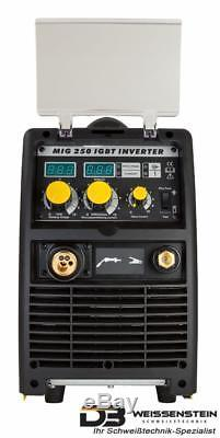 Schweißgerät Onduleur Mig Mag 250a Igbt 4 Rouleau Drahtvorschub Drahtspule 18 KG