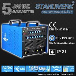 Schweißgerät Stahlwerk Ac / DC Perruque 200 Puls Plasmaschneider Inverseur Schweißen
