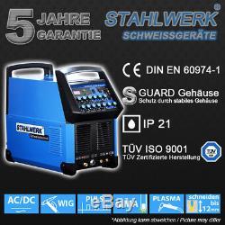 Schweißgerät Stahlwerk Ac / DC Perruque 200 Puls Plasmaschneider S Schweißen Inverter