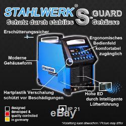 Schweißgerät Stahlwerk Ac / DC Perruque 200 Puls S Wig Inverter Pulsfunktion / E-hand