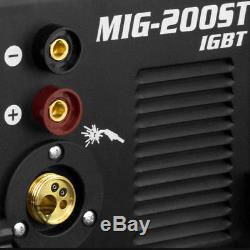 Schweißgerät Stahlwerk Mig Mag 200 Igbt Avec Mma Flux / Fülldraht Geeignet