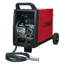 Sealey Professional Mig Welder 150amp 230v Garage / Outil De Travail Supermig150
