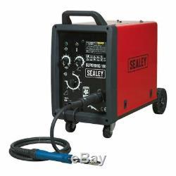 Sealey Professional Mig Welder 180amp 230v Avec Une Torche Binzel Euro