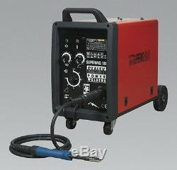 Sealey Supermig180 Pro Mig Soudeur 180amp 230v + Binzel Euro Soudage À La Flamme
