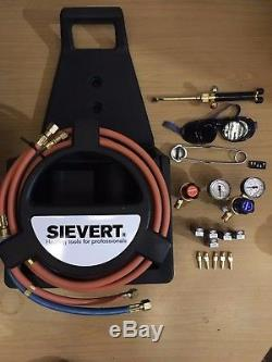 Sievert Porta Braze Kit 766000 Kit De Brasage Professionnel Portable Avec Cadre