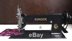 Singer 114w103 Chain Et Chenille / Moss Stitch Machine Restored Livraison Gratuite