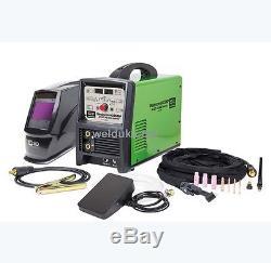 Sip 05770 Hg2500p Ac / DC Tig Arc Onduleur Pulse + Auto Casque + Pédale E52