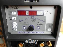 Soudeuse Parweld Xtt 202p Ac / DC Tig. 240 Volts