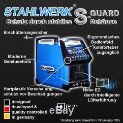 Soudeuse Stahlwerk Ac / DC Tig 200 Pulse Et Plasma Cutter S Hf Inverter Welding