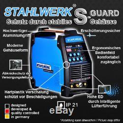 Soudeuse Stahlwerk Ct 520 Pulse Et Plasma S Soudeuse Machine Hf Tig Mma Inverter