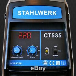 Soudeuse Stahlwerk Ct 535 Inverseur De Machine De Soudage Au Plasma S / Coupeur De Plasma 55a