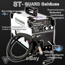 Soudeuse Stahlwerk Mig Mag 135 St Igbt Gaz De Blindage & Flux Gasless Cored Wire