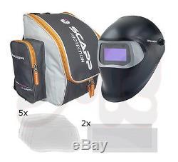 Speedglas 100 V Automatik Schweißhelm Schweißmaske Set Schweißerschutzhelm