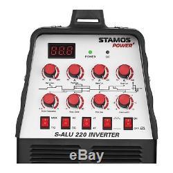 Stamos Onduleur Ac / DC Tig Mma Aluminium Pulse 220a Inverter