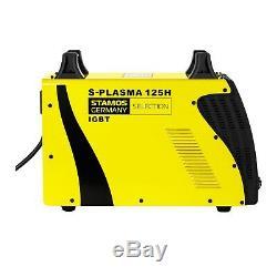 Stamos Plasmaschneider Cut Inverter Plasma 125 A Bis 35 MM Cnc Druckluft Luft