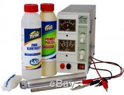 Stift-galvanik-anlage, Zink-elektrolyt, Re-zink Komplettset