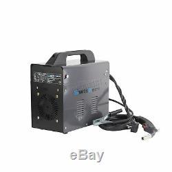 Switzer 120amp Portable Soudeuse Soudeuse Sans Gaz Avec Kit Masque Mig130 Gris