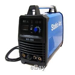 Tig 200a Igbt Inverter DC Soudeuse 2-en-1 Mma Machine De Soudage Multifonction 230v
