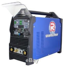 Tig Soudeuse Ac / DC Digital R-tech 210 Amp 240 V Gratuit Pédale De Ssc Valeur £ 190