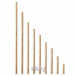 Tige Ronde En Cuivre De 6 MM De Diamètre 50-600mm Pour Le Broyage Du Métaltravail