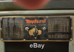 Tour Myford Ml7, Metric Avec Embrayage Et Armoire Myford