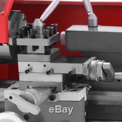 Tournez Le Mini Métal De Travail En Bois En Métal De Machine 600w Tournant 7 × 12 Automatique