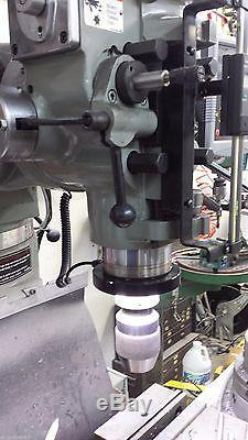 Vision 2.0 Led Anneau Lumière Cnc R8 Knee MILL Bridgeport Magnétique Prototrak Ip68