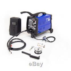 Wolf Professional Mig Welder 140 Turbo Refroidi Par Gaz / Sans Gaz Kit 135amp