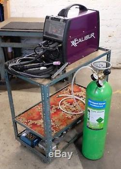 Xcalibur Xct 2000p Soudeuse Pour Machine À Souder À Courant Continu CC + Bouteille D'argon Pur